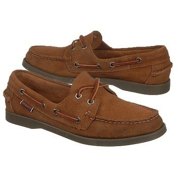 Sebago Docksides Shoes (Metallic Bronze) - Women's Shoes - 5.5 M