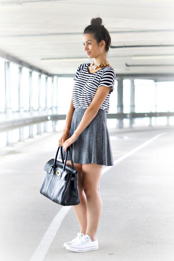 {outfit} Skater Skirt | fashion | Pinterest