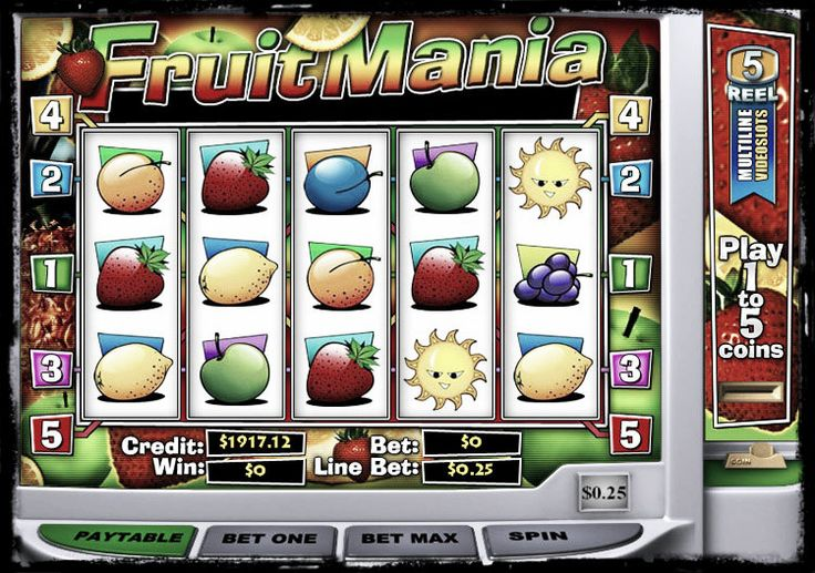 slot machine fruit