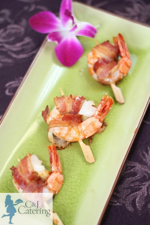Bacon Wrapped Shrimp | What I do | Pinterest