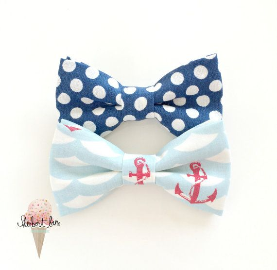 4th of july baby bows