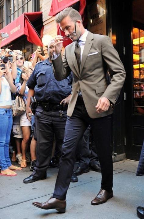 David Beckham Style Pinterest