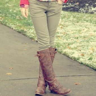Fall riding boots...