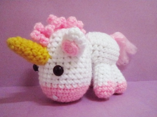 Crochet unicorn pattern diy Pinterest
