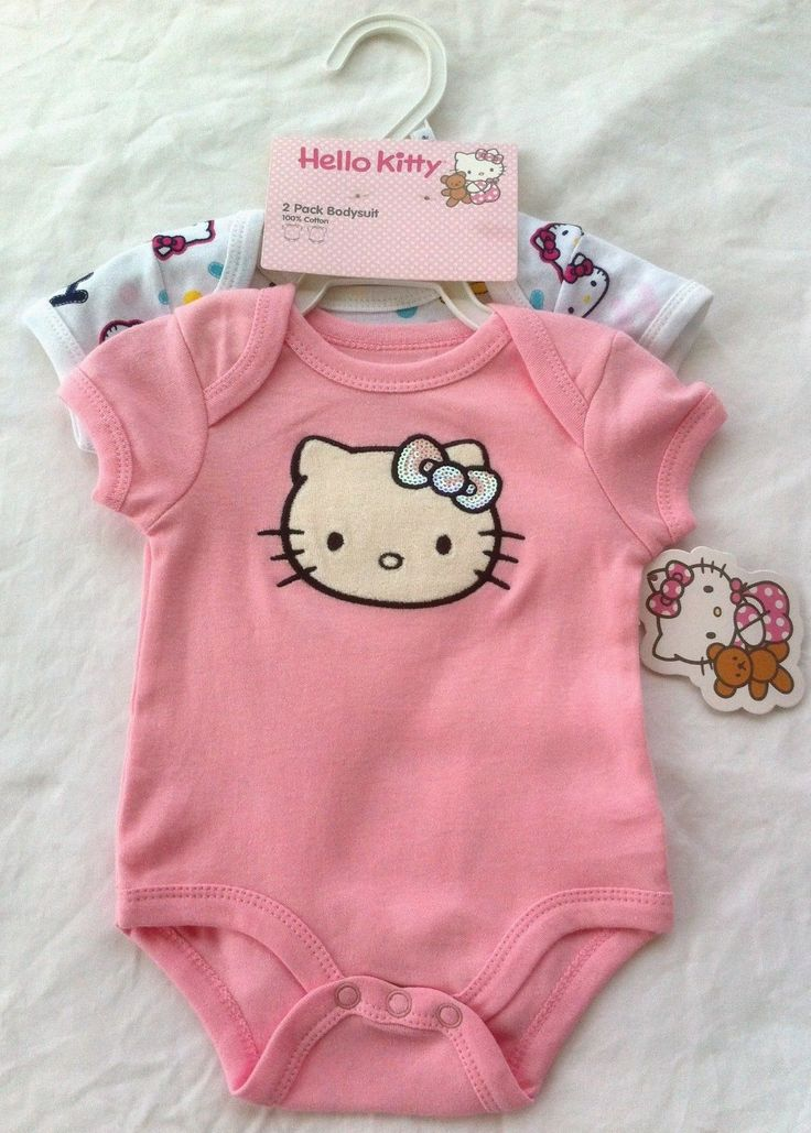 Hello Kitty baby clothes are a compelling option to provide enjoyment to your infant. They are comfortable and attractive as well. Grandparents and babies relish the design and touch of these Hello Kitty newborn baby clothes. Browse for the proper color, clothing size, and age level from the many listed items to get exactly what you want.