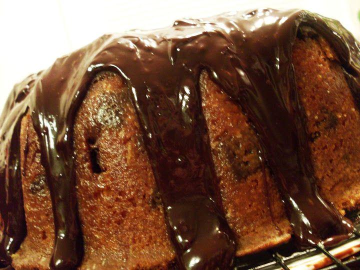 Orange Chocolate Chunk Cake | Cakes! | Pinterest