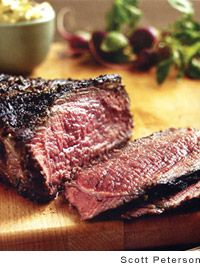 Grilled Tri Tip with Black Olive Aïoli | Recipe