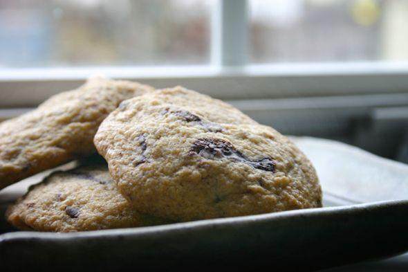 Chocolate Chunk Cherry Cookies | Vegan | Pinterest