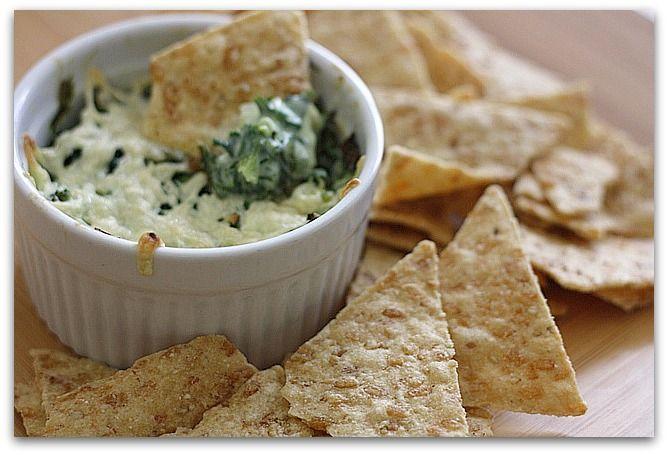 Hot Spinach Dip | Vegan Food | Pinterest