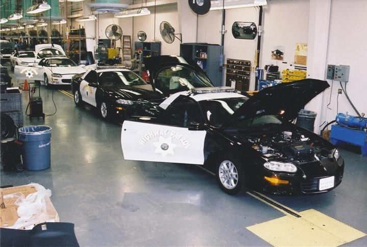Chp Camaro S On The Assembly Line Police Cars Pinterest