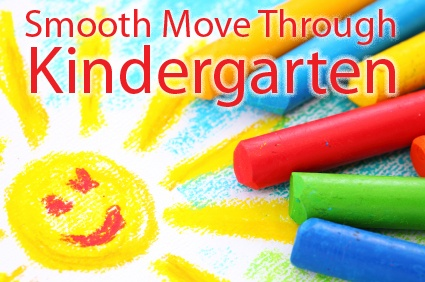 Come Together Kids: Smooth Move Through Kindergarten ~ great tips for a smooth school year.