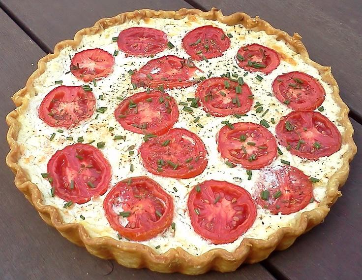 Ricotta Tomato Pie | Carrie's Pie Challenge | Pinterest