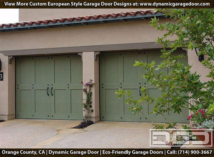 Green Garage Doors : Green garage doors homes pinterest