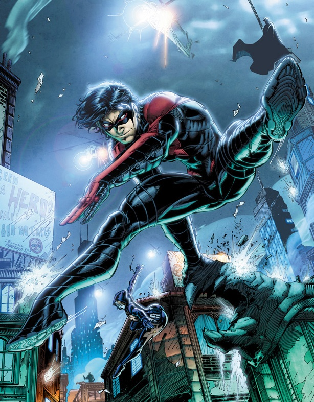 Via Marc RutherfordDick Grayson New 52 Nightwing