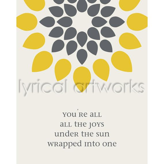 You re all i need to get by marvin gaye song lyric art print