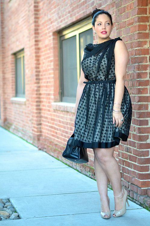 Gorgeous Plus S ize Mini Dress