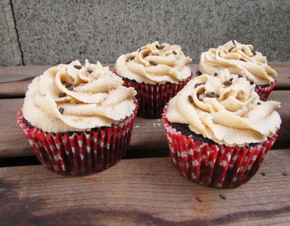 Edible Raw Peanut Butter Cookie Dough Cupcakes | Recipe