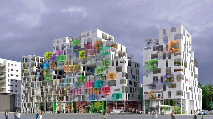 Mixed-use building: housing, retail & offices in Lille