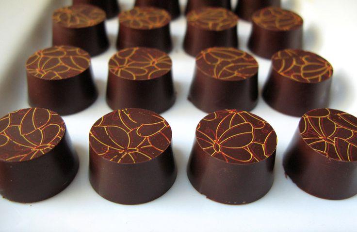 Simple Chocolate Truffles | Yummies | Pinterest