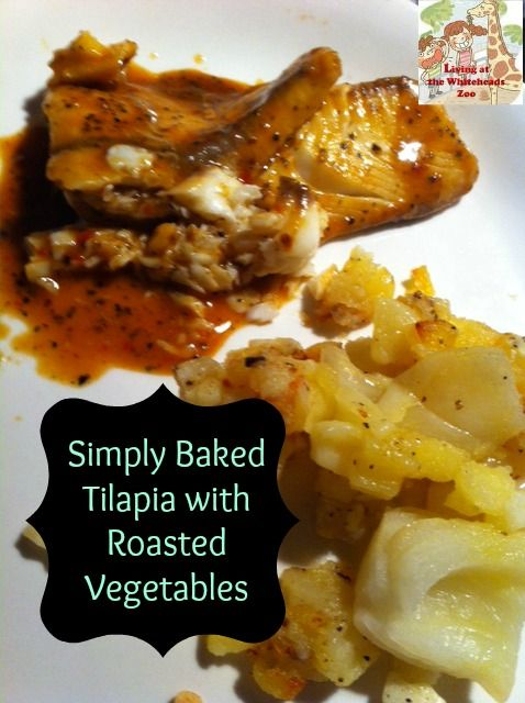 Simply Baked Tilapia And Roasted Vegetables photo SimpleTilapia.jpg
