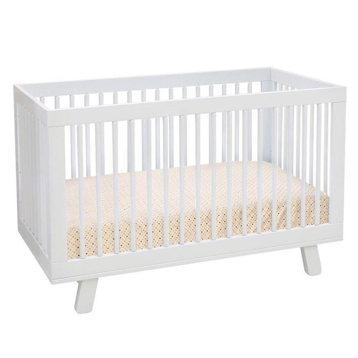 Babyletto Hudson Convertible Crib White | Baby room ideas ...