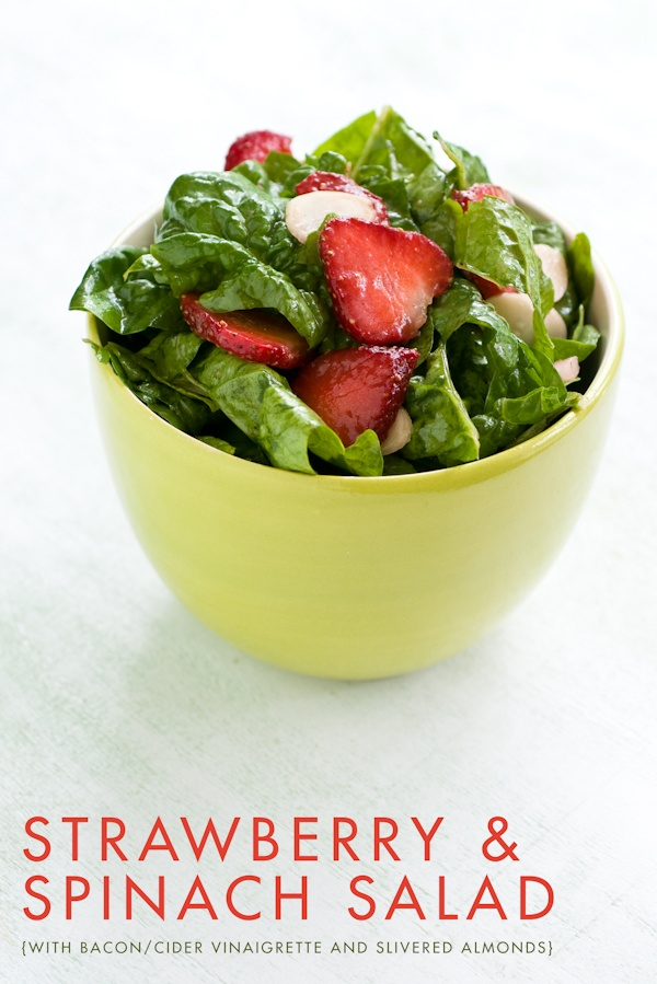 Strawberry Spinach Salad | Recipes | Pinterest