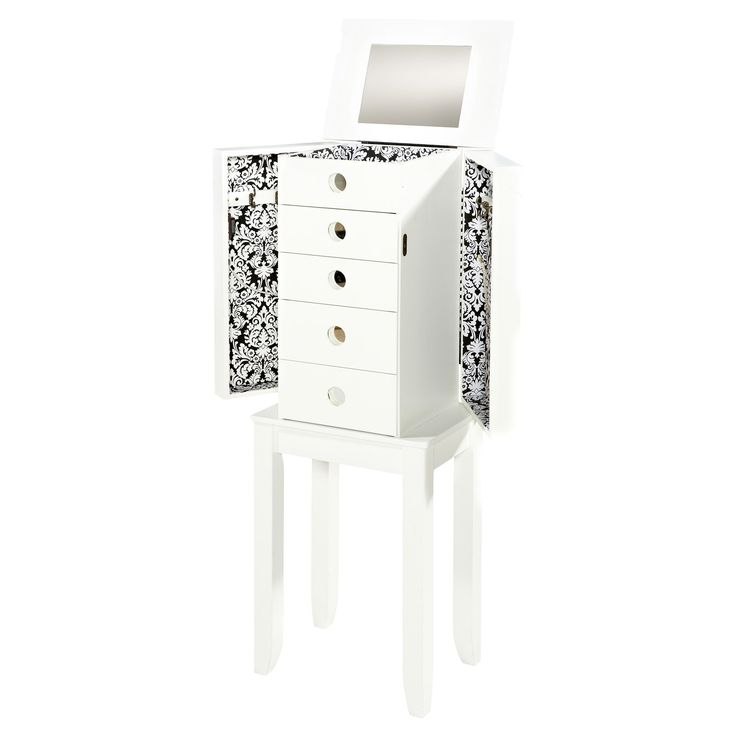 Brittany Jewelry Armoire