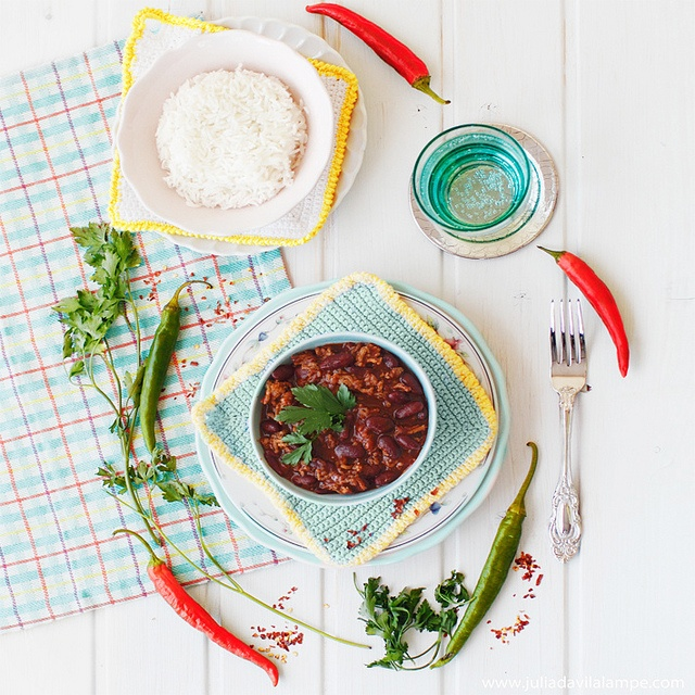 #Chili con carne by Chaulafanita [www.juliadavilalampe.com], via Flickr