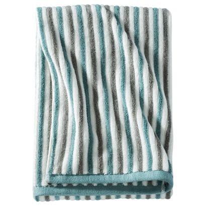 Threshold stripe bath towel new house ideas pinterest