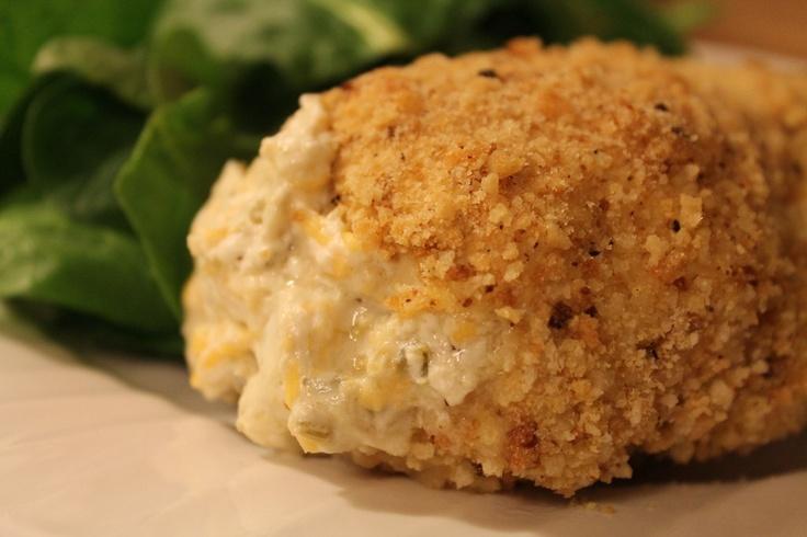 Gluten Free Jalapeno Popper Chicken...mmmm!!! Gotta try :)