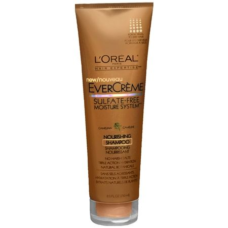 l'oreal evercreme shampoo natural hair