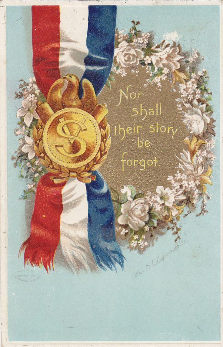 memorial day vintage art