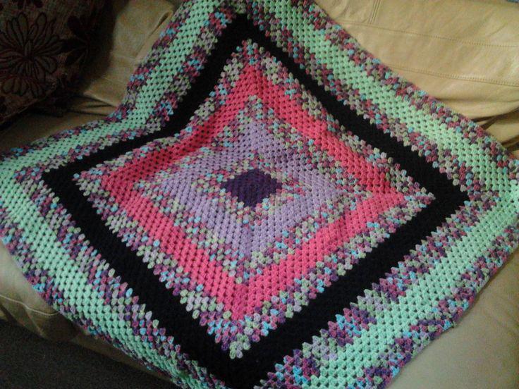 Crochet Patterns For Lap Blanket : Lap blanket Crochet Crafts Pinterest