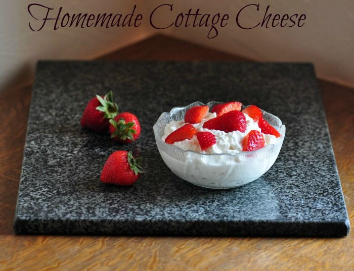 Cottage Cheese - Find out how easy it is to make yourself! http ...
