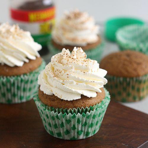 Irish Coffee Cupcakes | yummy recipes | Pinterest