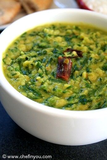 indian spinach recipes spinach lentil curry recipe indian curry ...