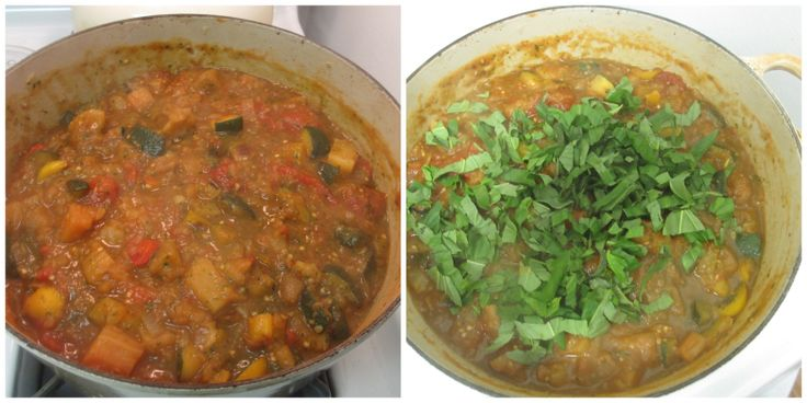 Italian Vegetable Stew (Ciambotta)