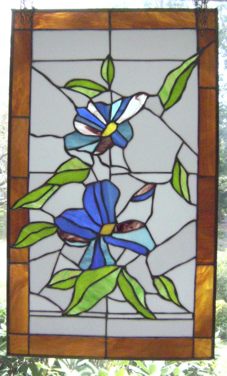 New Large Stained Glass Window Panel My Stained Glass