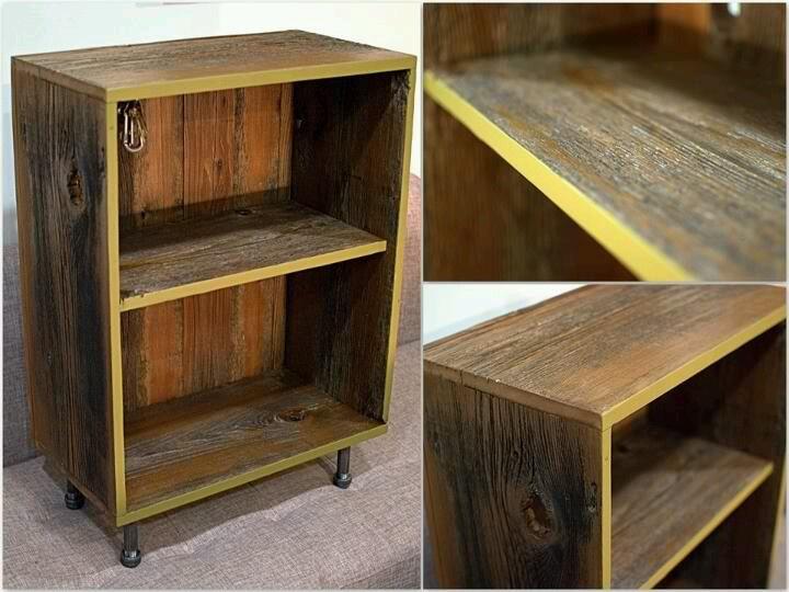 Old barn wood shelves diy pinterest