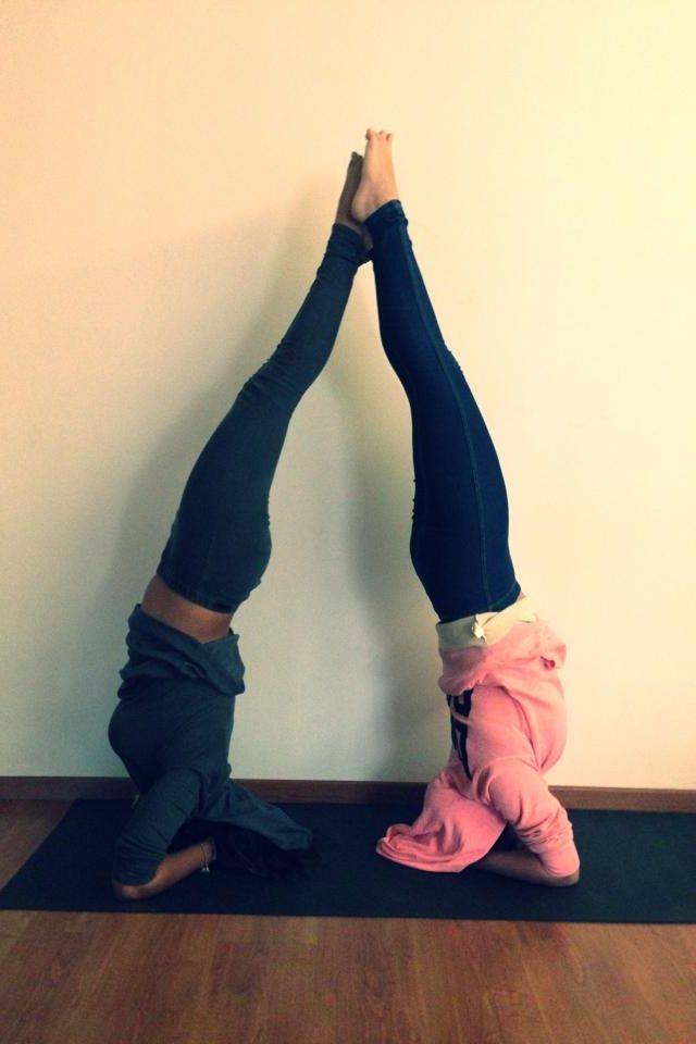 fuckyeahyoga: Partner Yoga | Yoga | Pinterest