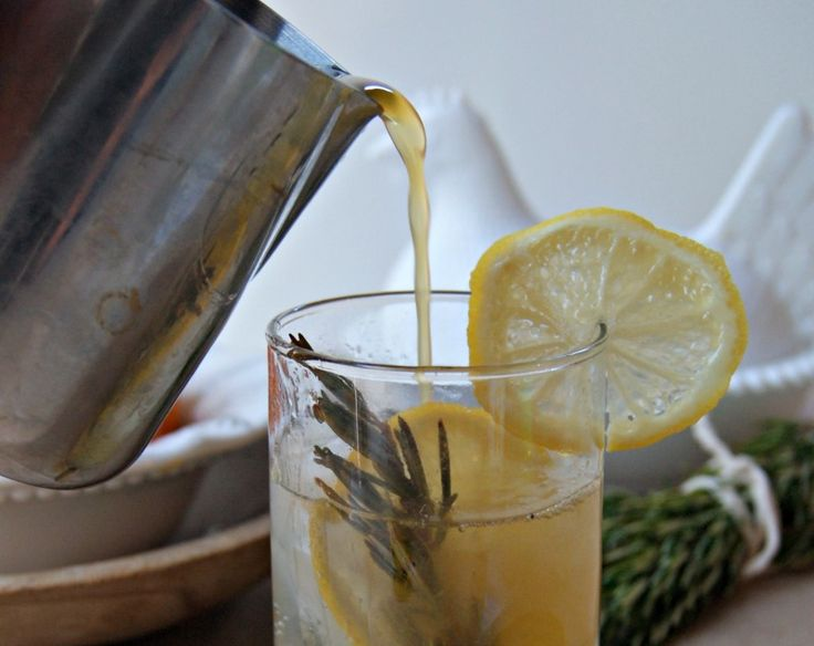 Rosemary Lemon Spritzer - The Sprouting Seed