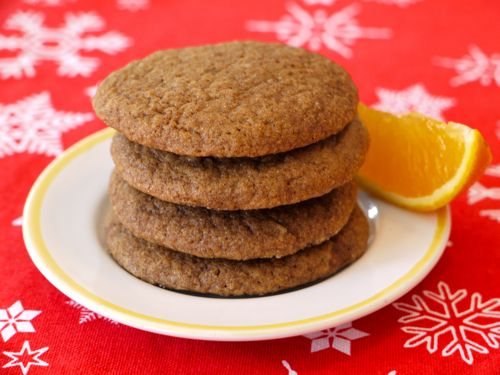 Orange & Ginger Cookies Recipe   Favorite Recipes   Pinterest
