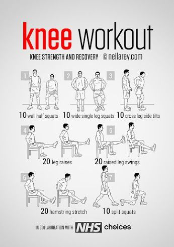 This Workout Routine will Help Strengthen Your Knees and Prevent Future Knee Injury
