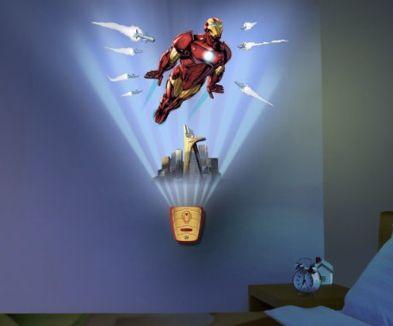 Amazon Uncle Milton Wild Walls Iron Man Light Sound