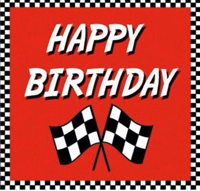 happy birthday nascar