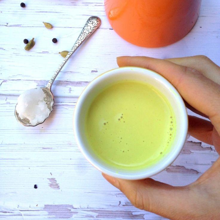 Golden Turmeric Milk | Cocktails and Drinks | Pinterest