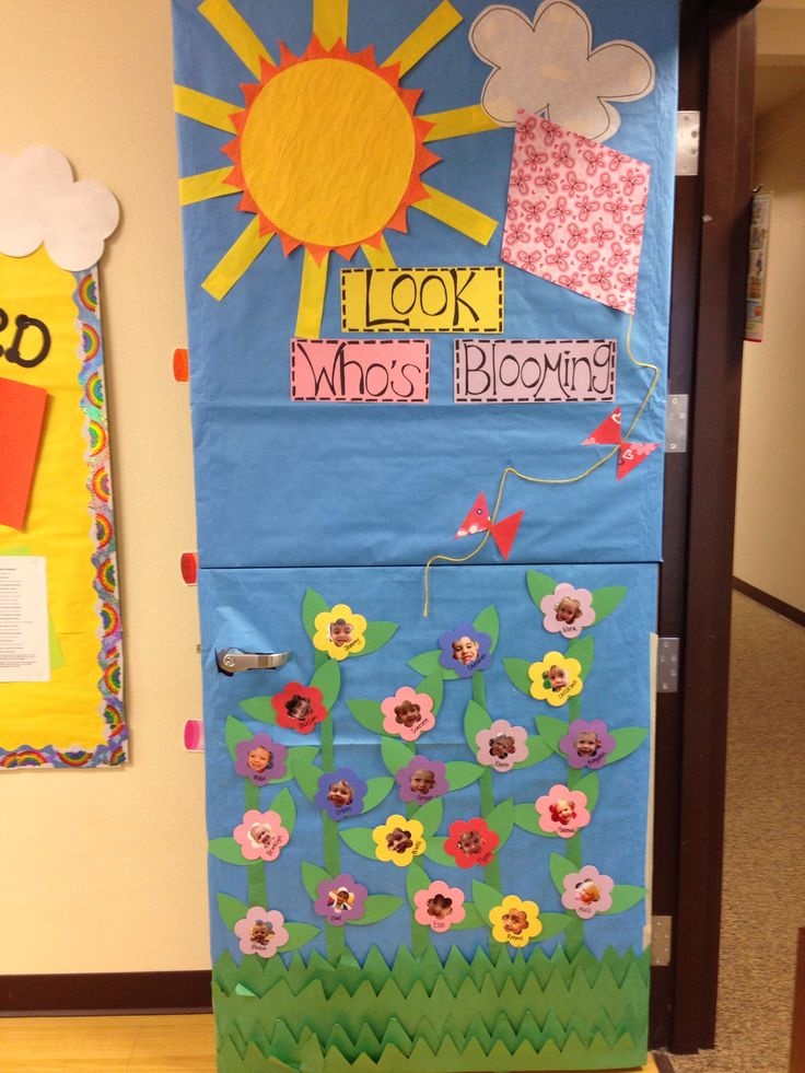 Classroom Decoration Ideas For Spring : Spring classroom door teaching ideas pinterest