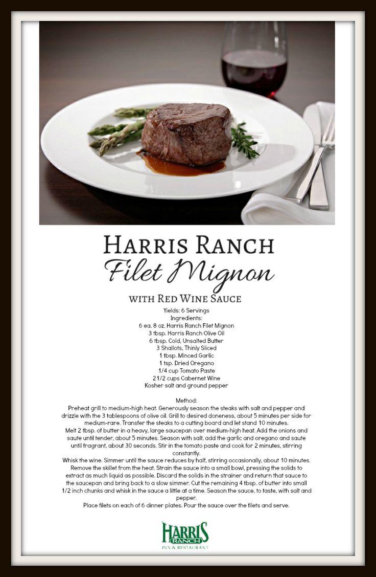 Filet Mignon with Red Wine Sauce. #filetmignon #steak #eatbeef # ...
