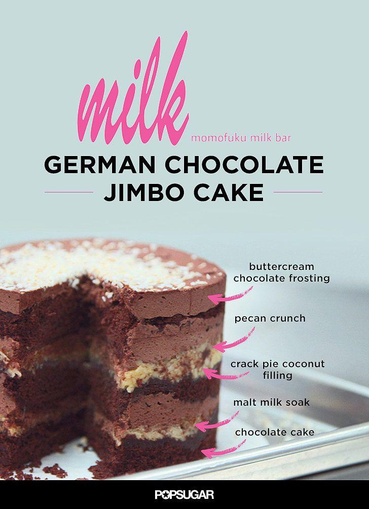 Momofuku Milk Bar German Chocolate Jimbo