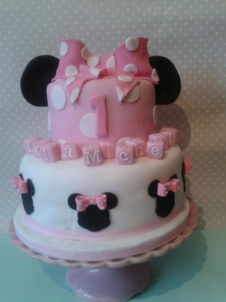 Minnie Mouse Baby Shower Cake Images : Mickey Minnie Mouse Baby Shower Cakes Cake & Baking Art ...